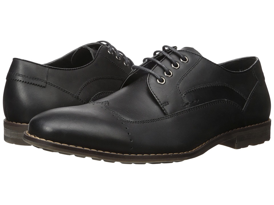 Steve Madden - Kyngdom (Black Leather) Men