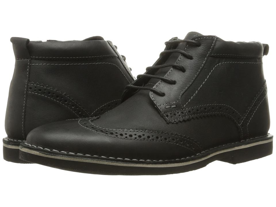 Steve Madden - Lawrense (Black Leather) Men