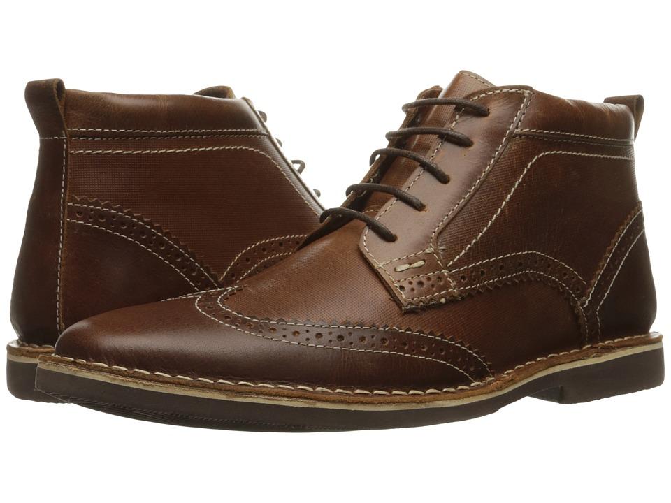 Steve Madden Lawrense (Cognac Leather) Men