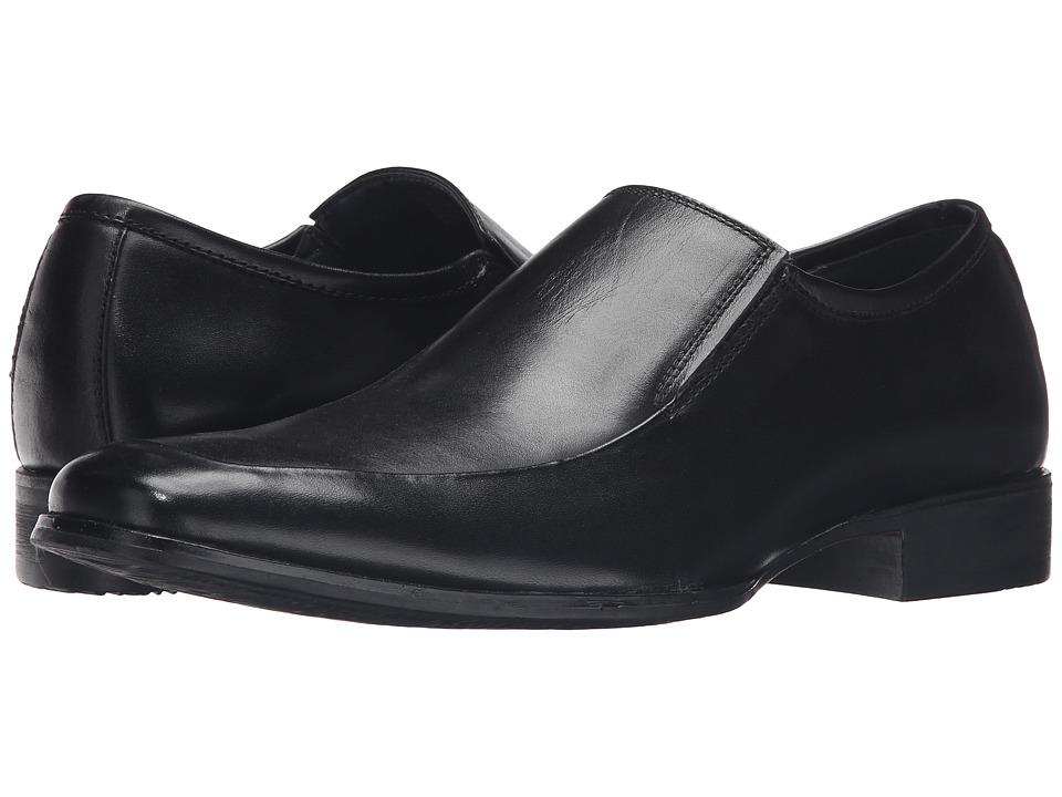 Steve Madden Safety (Black Leather) Men