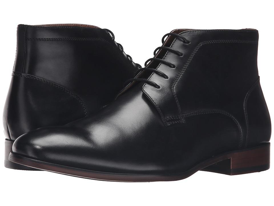 Steve Madden - Webbar (Black Leather) Men