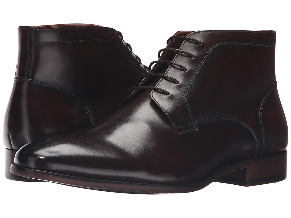 Steve Madden - Webbar (Brown Leather) Men