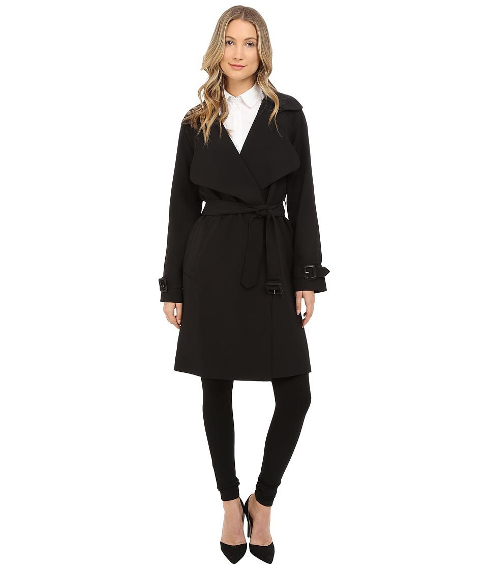 Diane von Furstenberg Anouk Black Womens Coat