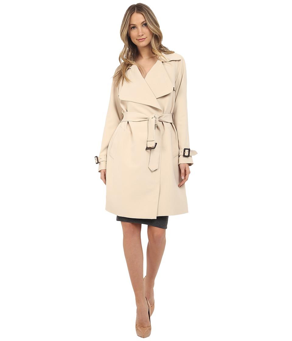 Diane von Furstenberg Anouk Stone Womens Coat