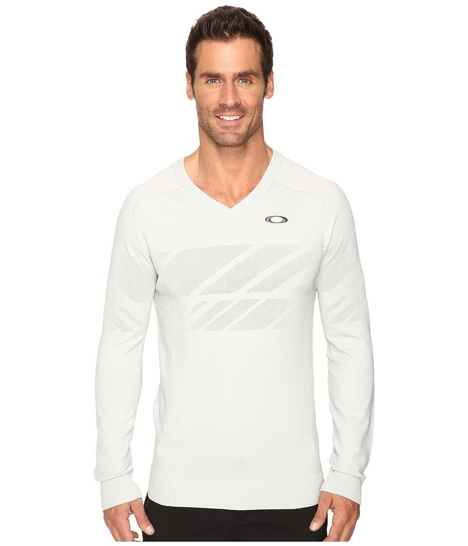Oakley Hazard Block Sweater (Gray) Men