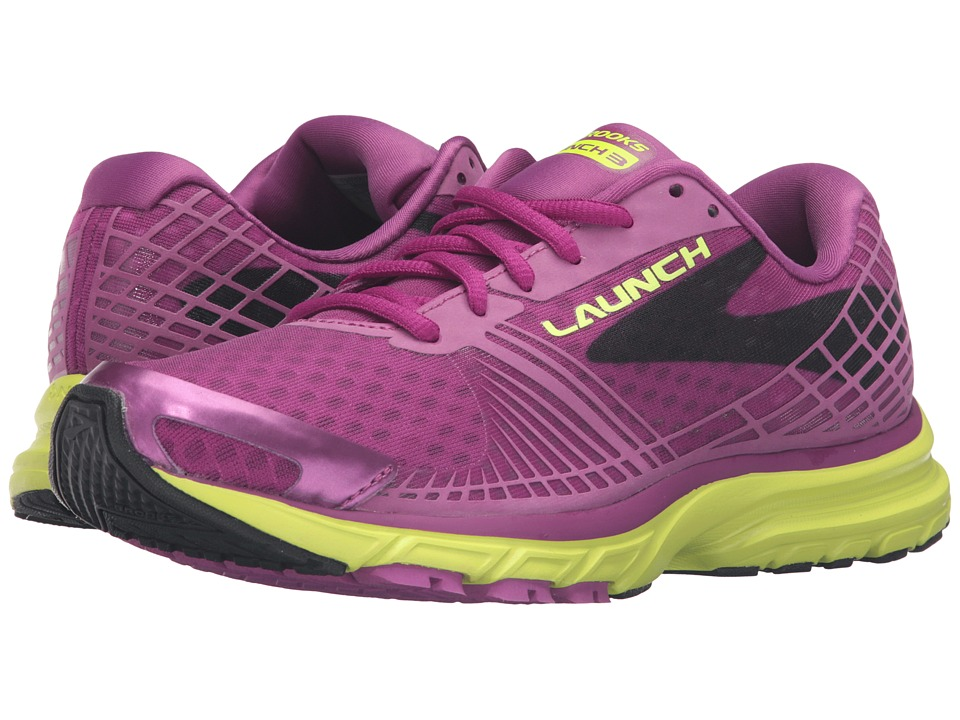 Brooks Launch 3 (Hollyhock/Nightlife/Black) Women