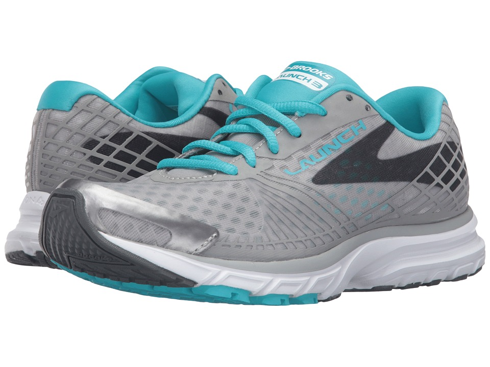 Brooks Launch 3 (Alloy/Scuba Blue/Anthracite) Women