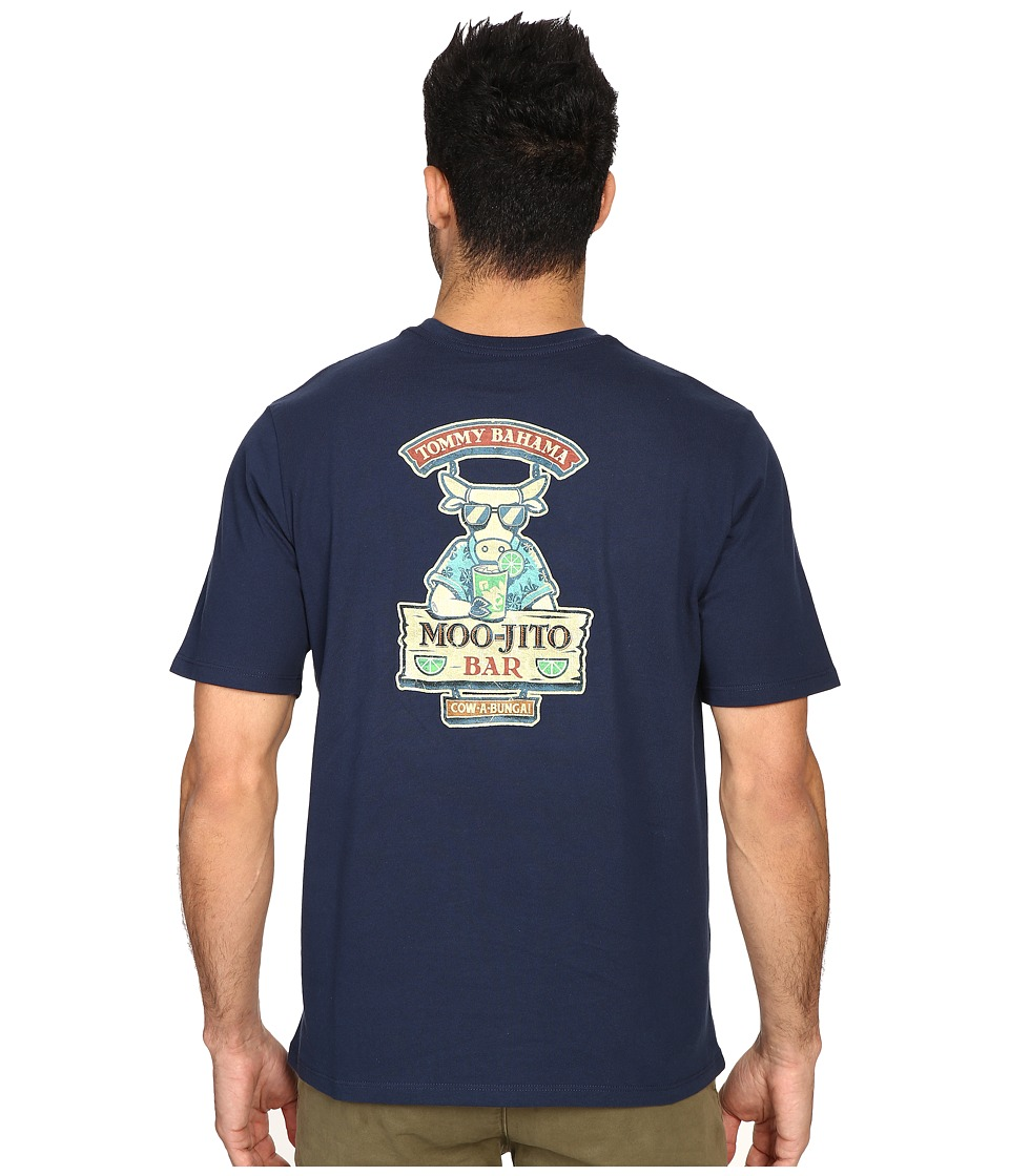 Tommy Bahama Moo Jito Bar Tee (Navy) Men