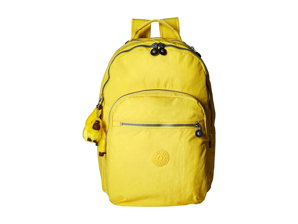 Kipling Seoul Backpack with Laptop Protection Pineapple Backpack Bags