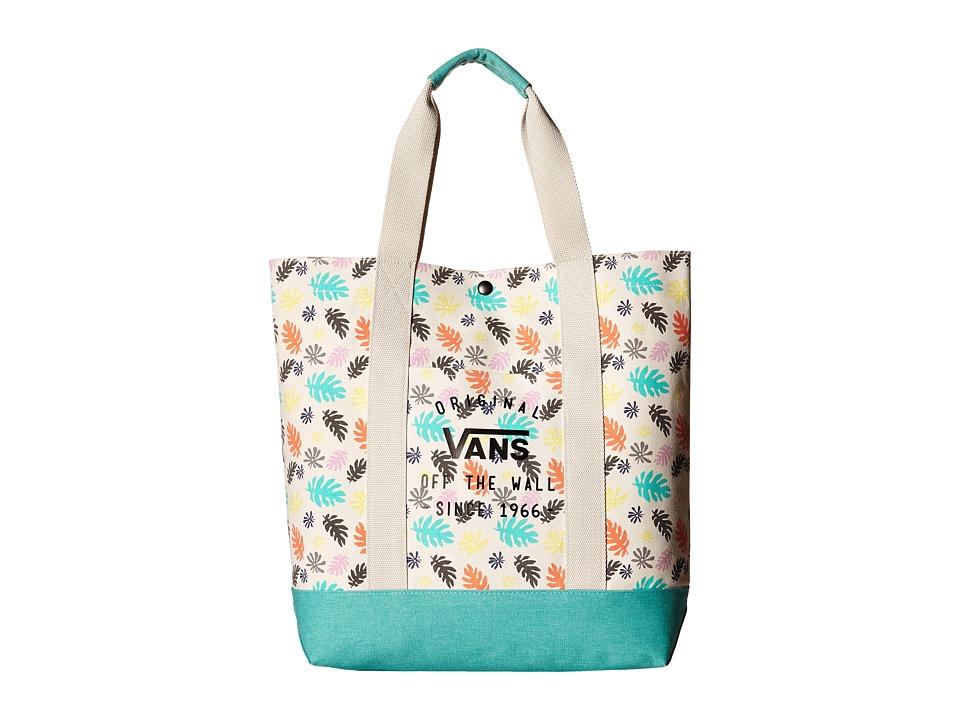 Vans - Sophia Tote (Washed Kelp Multi/White) Tote Handbags