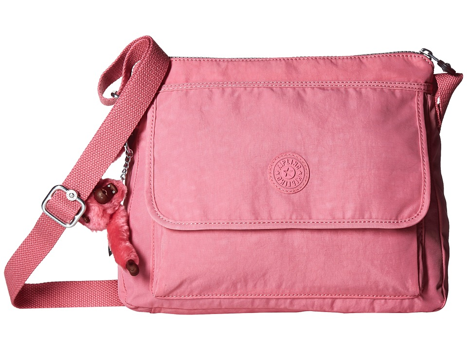 Kipling Aisling Crossbody Bag Pink Macaroon Handbags