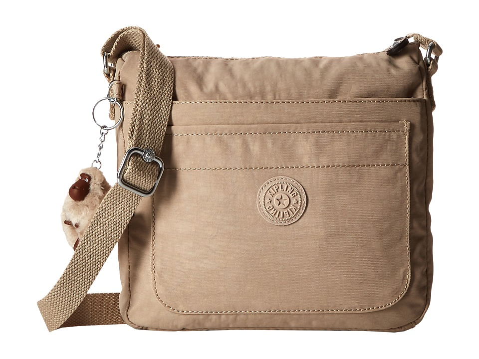 Kipling Sebastian Crossbody Sandcastle Cross Body Handbags