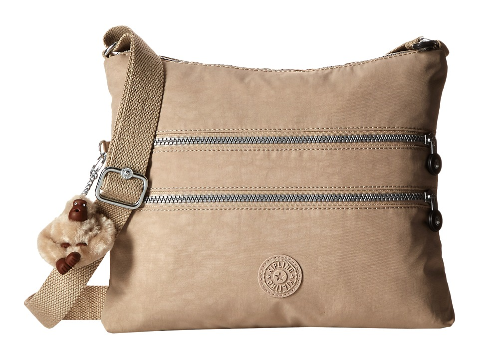 Kipling Alvar Crossbody Bag Sandcastle Cross Body Handbags