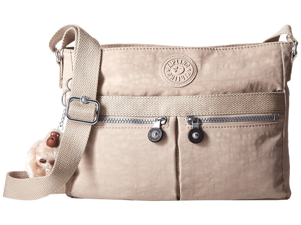 Kipling Angie Sandcastle Handbags