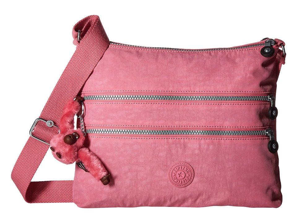Kipling Alvar Crossbody Bag Pink Macaroon Cross Body Handbags