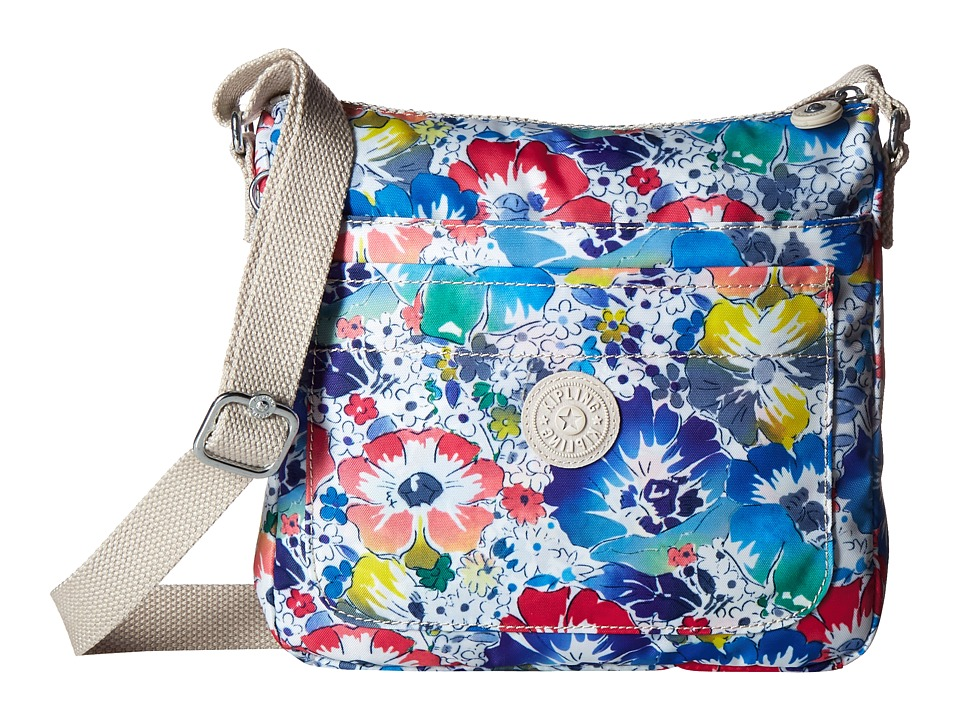 Kipling Sebastian Crossbody In Bloom Cross Body Handbags