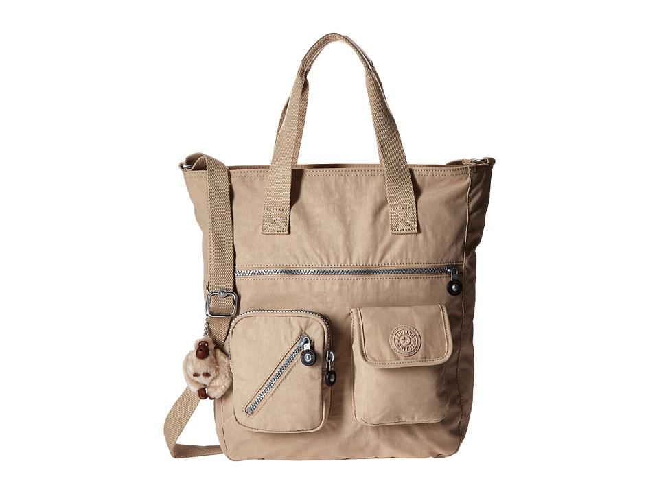 Kipling Johanna Tote Sandcastle Tote Handbags