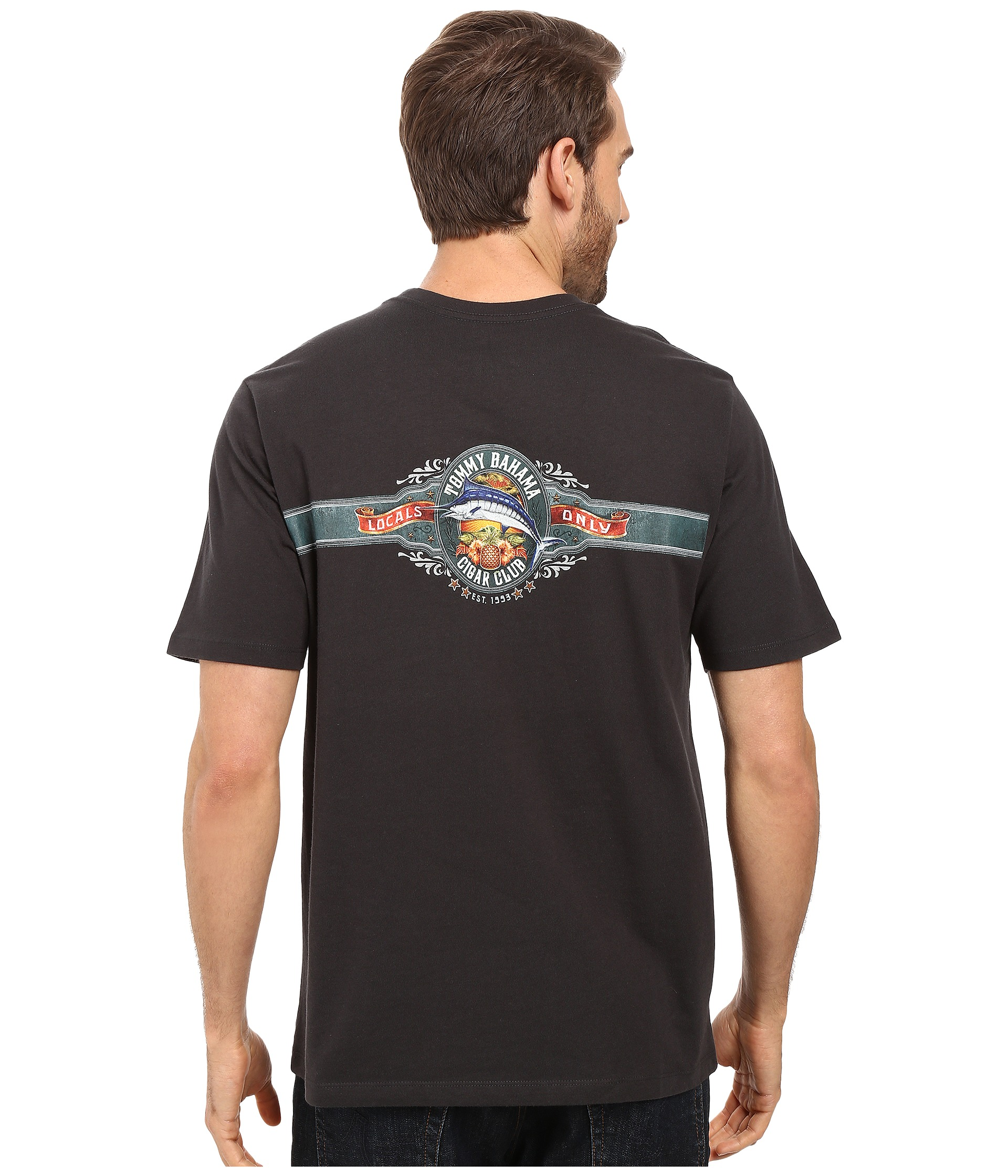 Tommy Bahama Cigar Club Tee Free Shipping
