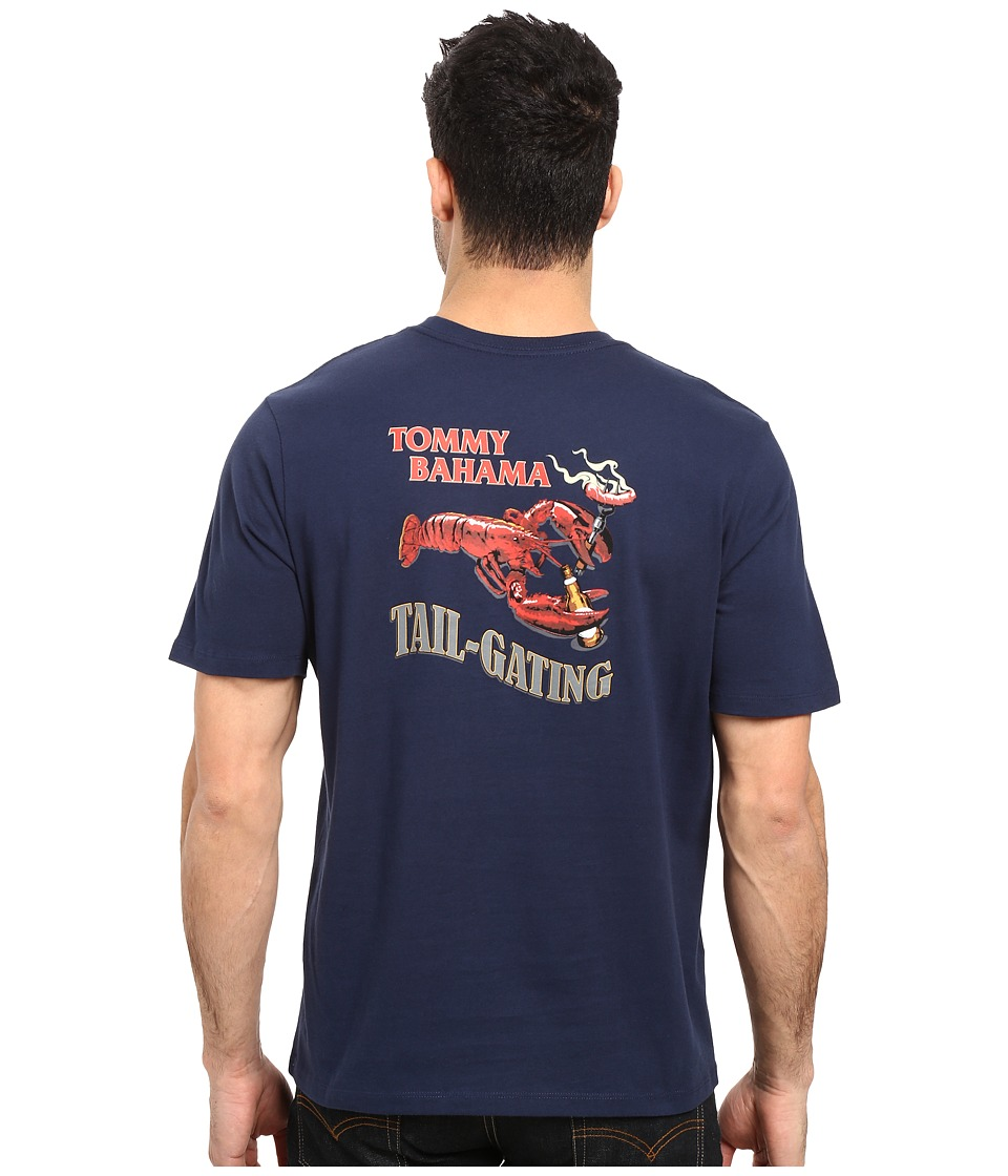 Tommy Bahama Tail Gating Tee (Navy) Men