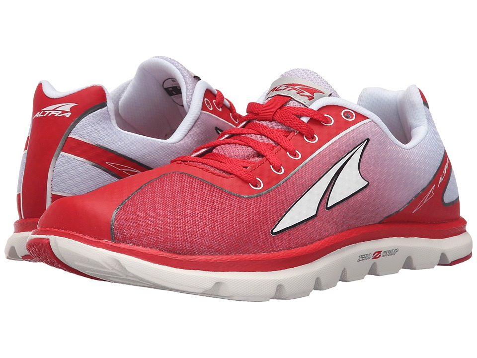 Altra Footwear One 2.5 Red/Silver Mens Shoes