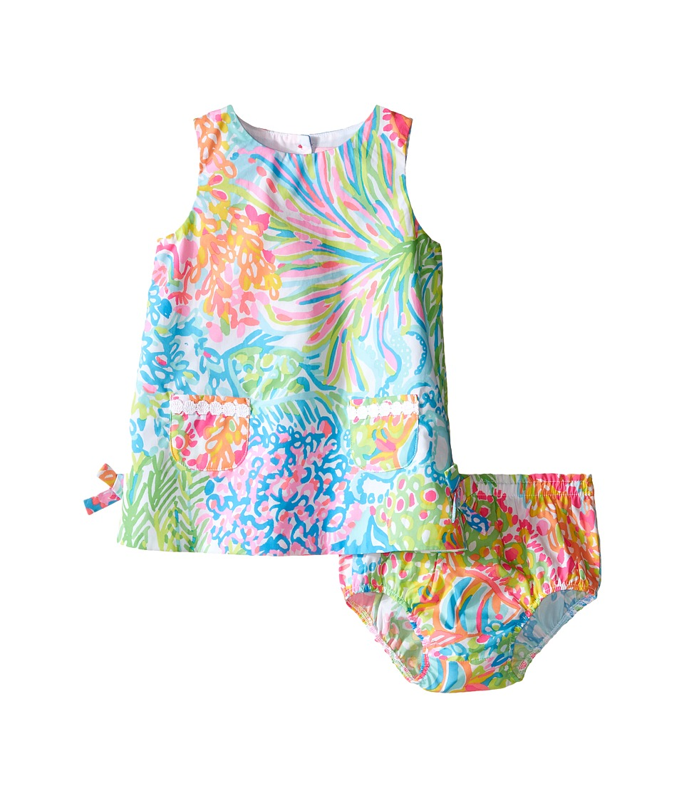 Lilly Pulitzer Kids Baby Lilly Shift Infant Multi Lovers Coral Girls Dress