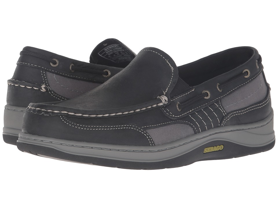 Sebago Clovehitch II Slip-On (Black Leather) Men
