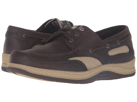 Sebago Clovehitch II - Dark Brown Leather