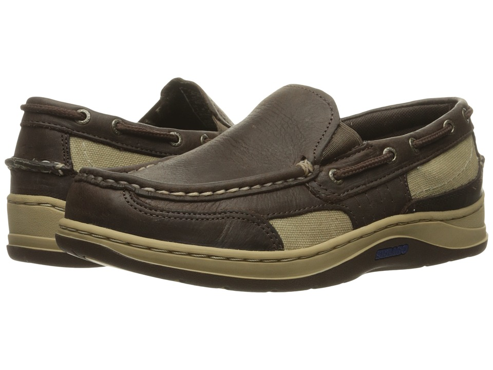 Sebago Clovehitch II Slip-On (Dark Brown Leather) Men