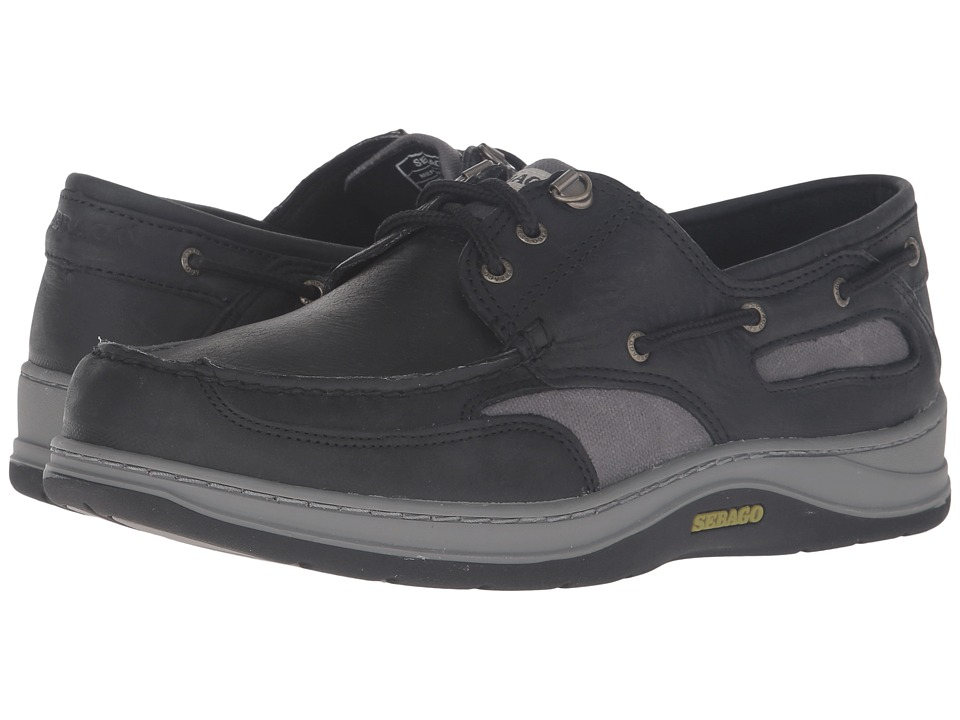 Sebago Clovehitch II (Black Leather) Men