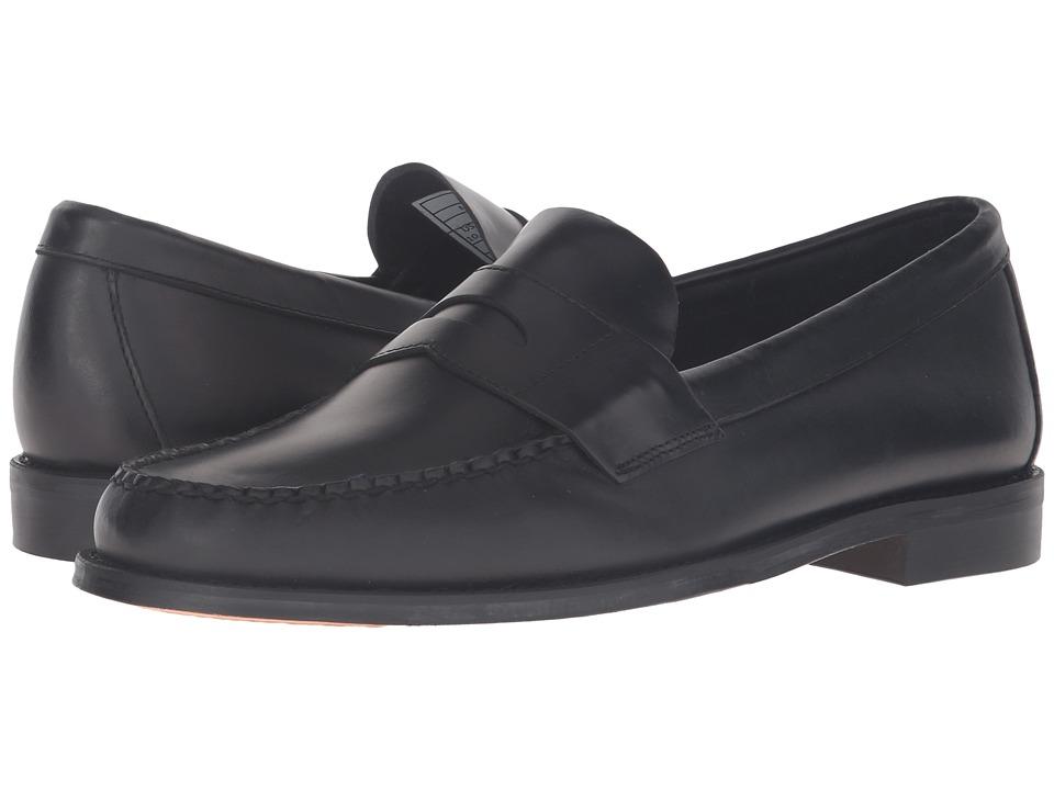 Sebago Heritage Penny (Black Oiled Waxy Leather) Men
