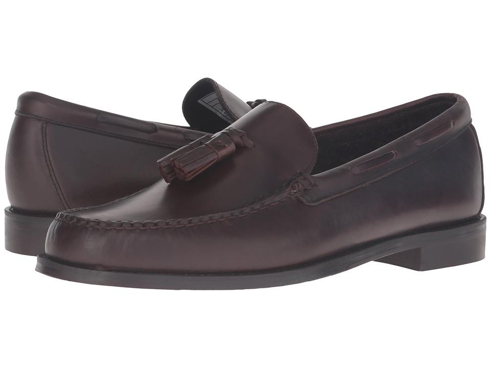 Sebago Heritage Tassel (Brown Oiled Waxy Leather) Men
