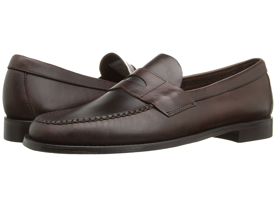 Sebago Heritage Penny (Brown Oiled Waxy Leather) Men