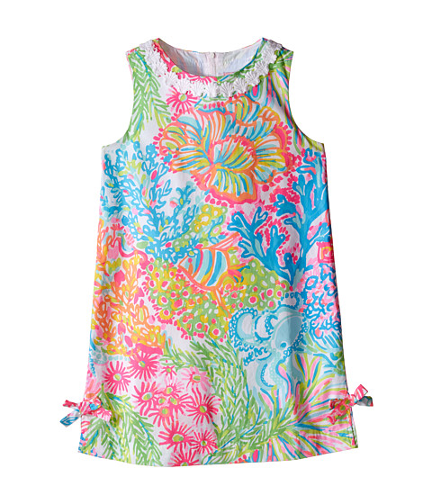Little Lilly Classic Shift Toddler Little Kids Big Kids Multi Lovers Coral Girls Dress By Lilly Pulitzer Kids