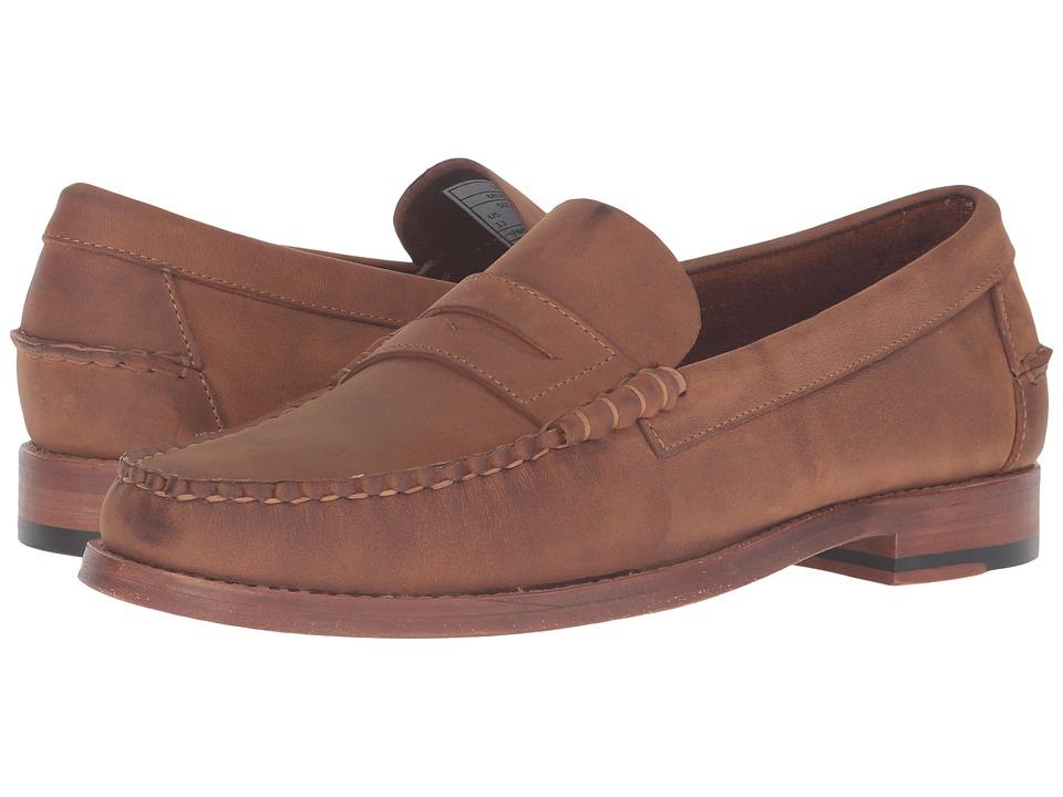 Sebago Legacy Penny (Tan Oiled Leather) Men