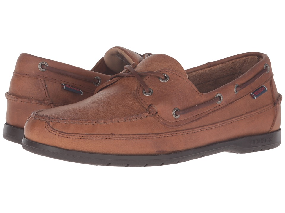 Sebago Schooner (Tan Tumbled Leather) Men