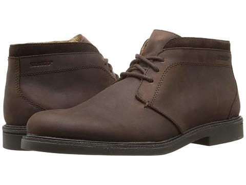 Sebago Turner Chukka Waterproof - Dark Brown Leather
