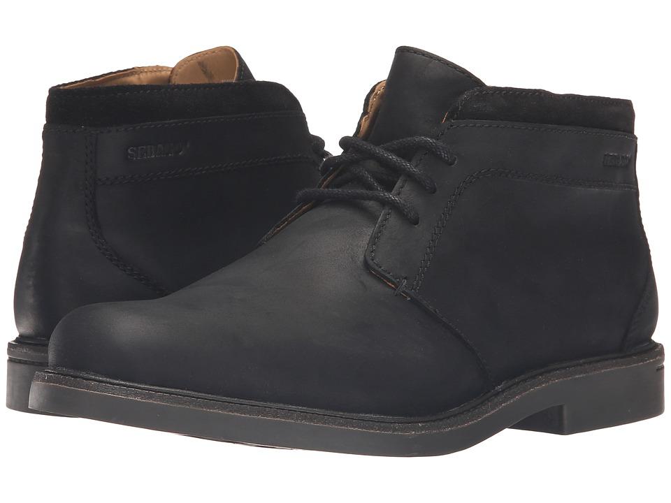 Sebago - Turner Chukka Waterproof (Black Leather) Men's Shoes