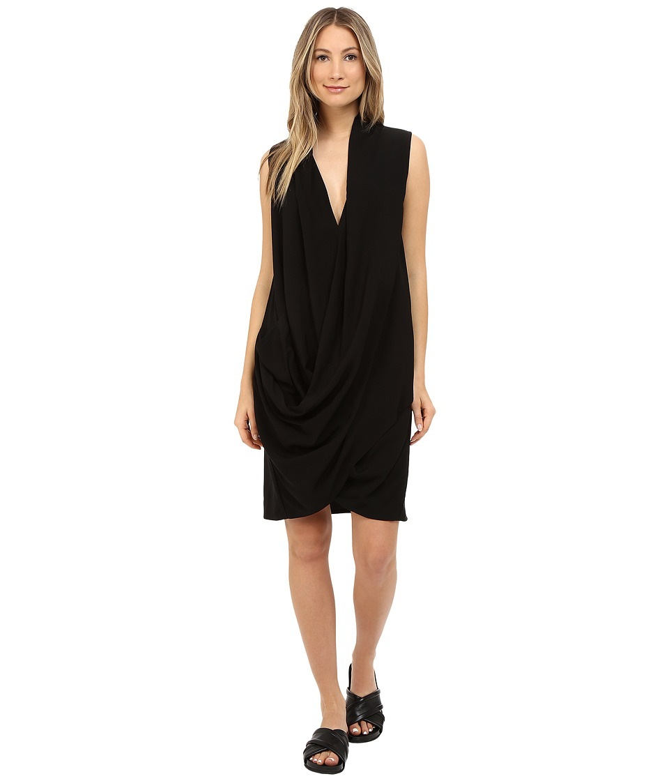 Limi Feu Draped Dress Black Womens Dress