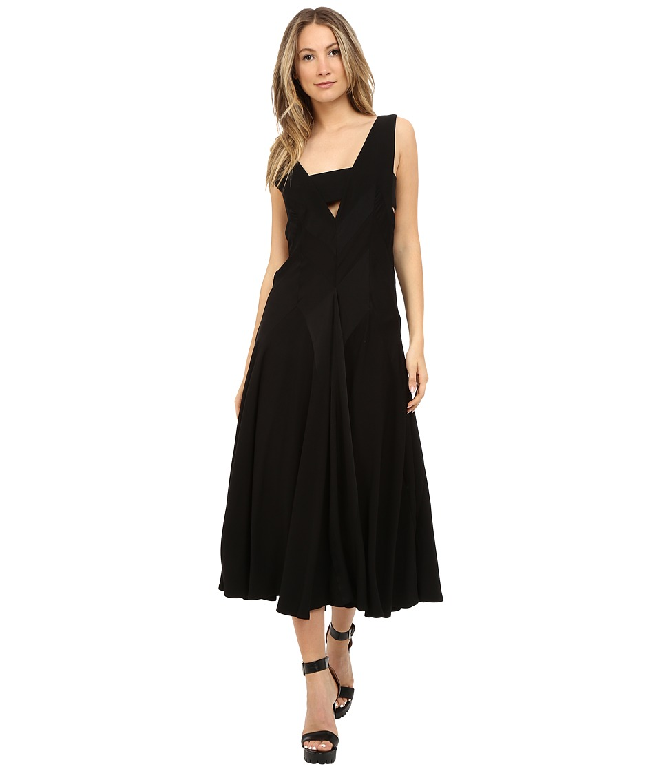 Limi Feu Paneled Dress Black Womens Dress