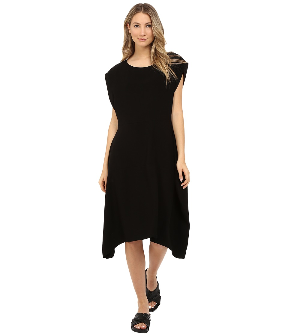 Limi Feu Satin Crepe Sleeveless Dress Black Womens Dress