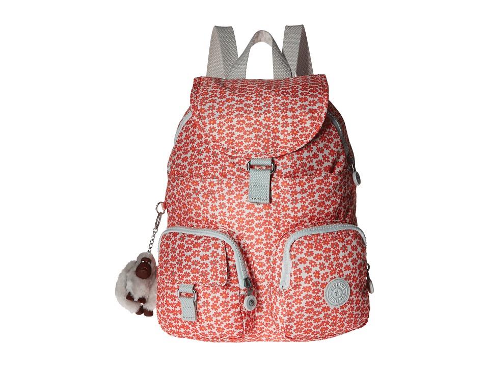 Kipling - Firefly Backpack (Poppy Spray) Backpack Bags
