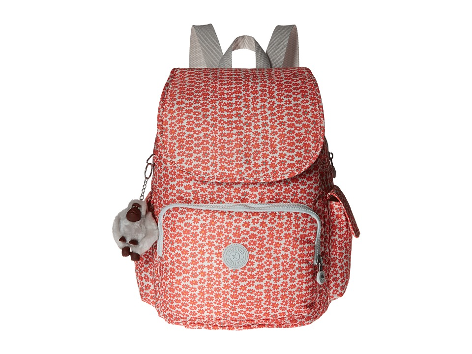 Kipling - Ravier Backpack (Poppy Spray) Backpack Bags