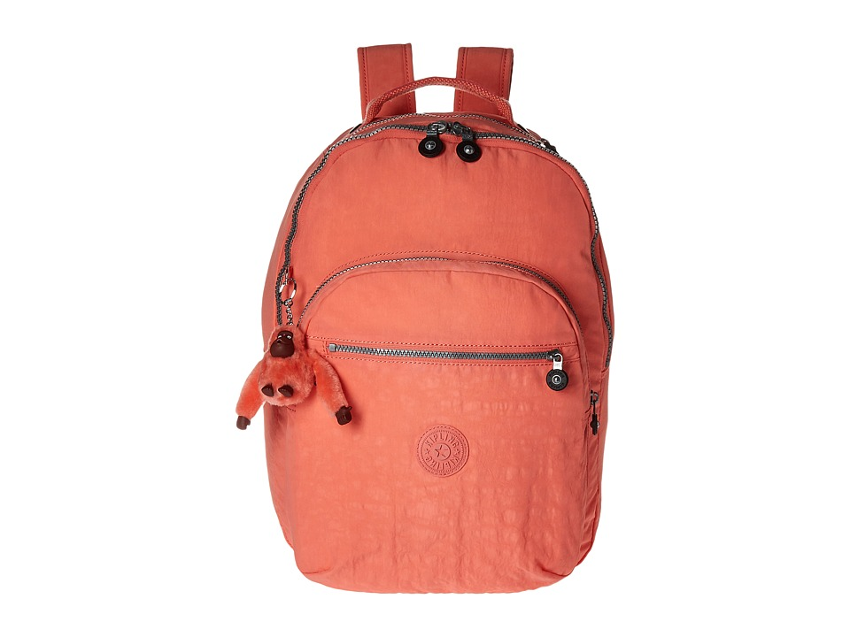 Kipling Seoul Backpack Pink Sherbert Backpack Bags