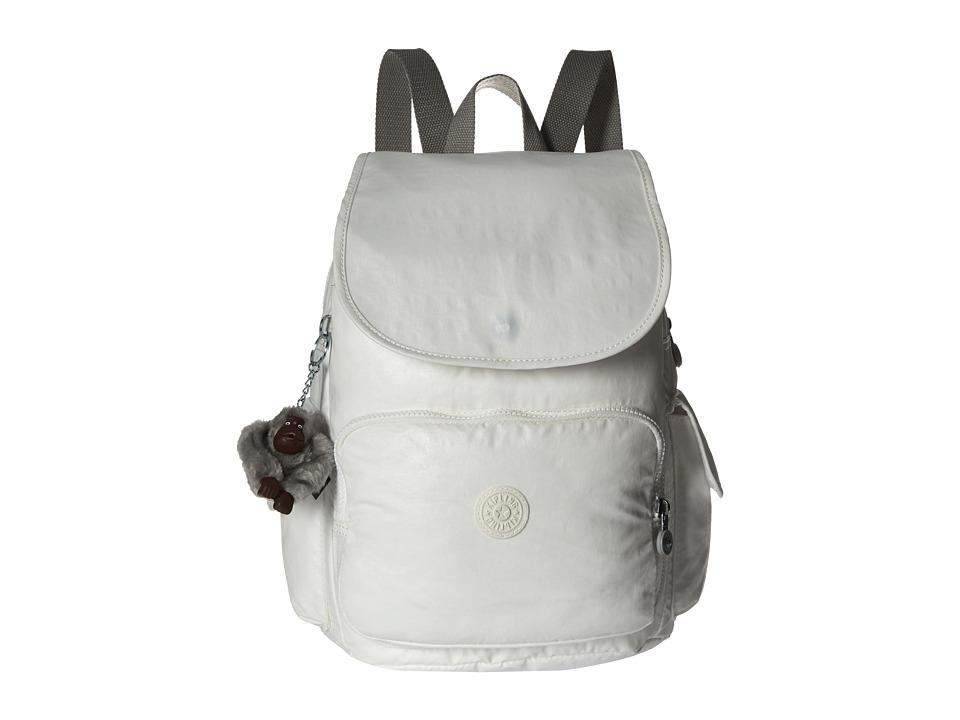 Kipling Ravier Backpack Lacquer Pearl Backpack Bags