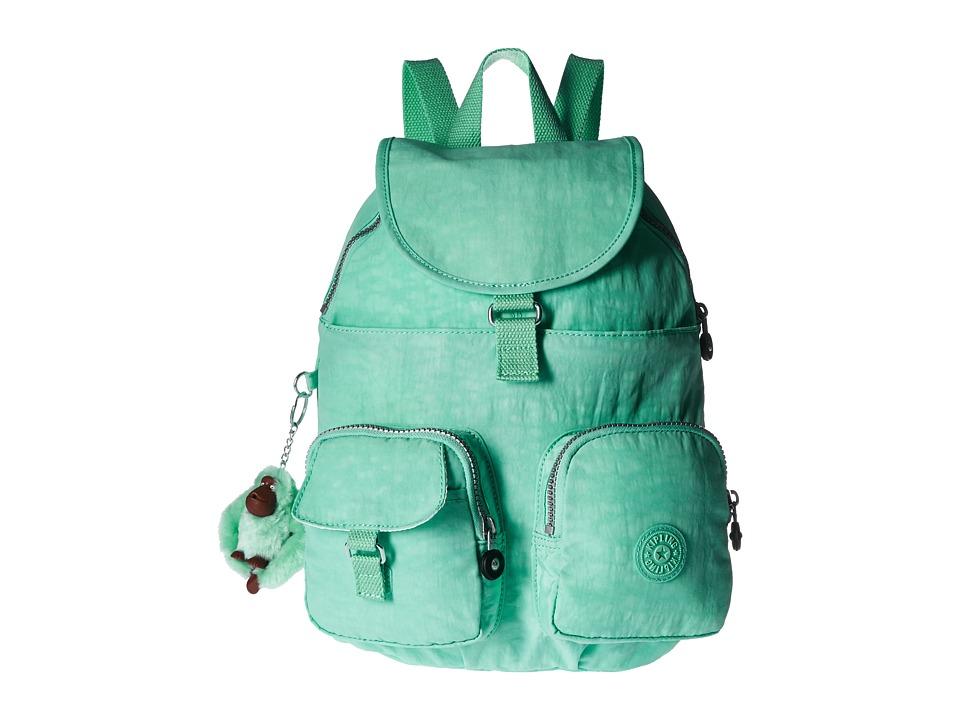 Kipling - Firefly Backpack (Seafoam Green) Backpack Bags