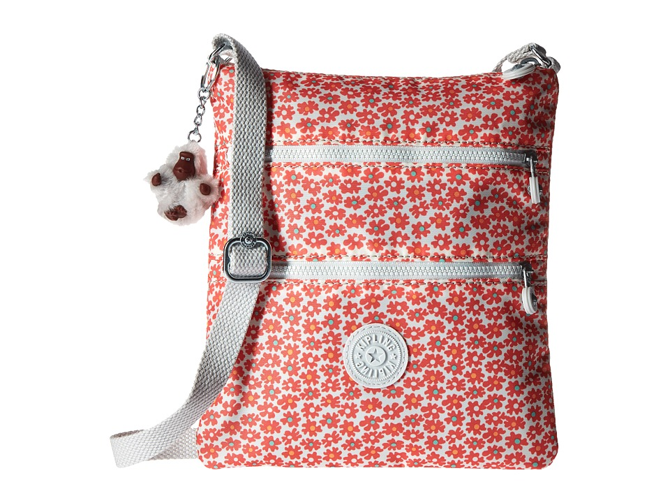 Kipling Keiko Crossbody Poppy Spray Cross Body Handbags