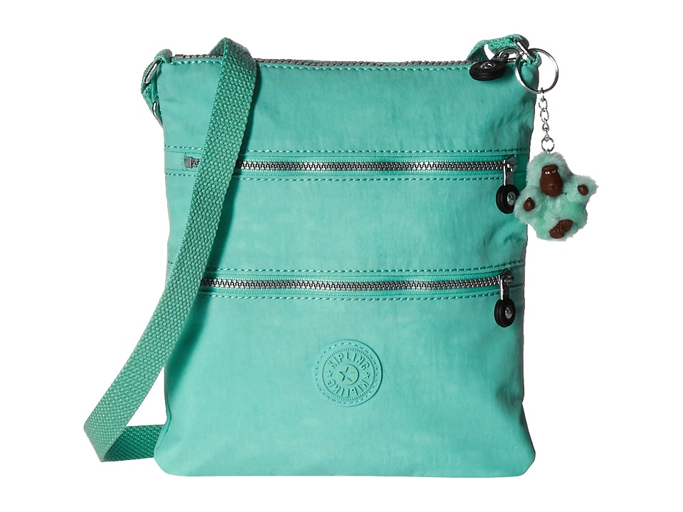Kipling Keiko Crossbody Seafoam Green Cross Body Handbags