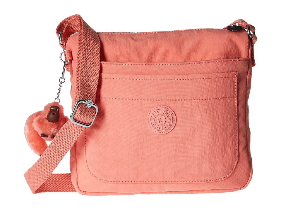 Kipling Sebastian Crossbody Pink Sherbert Cross Body Handbags
