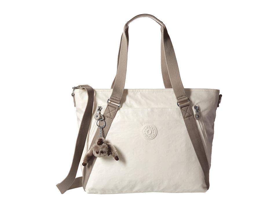 Kipling - Fleur Tote (Lacquer Pearl) Tote Handbags
