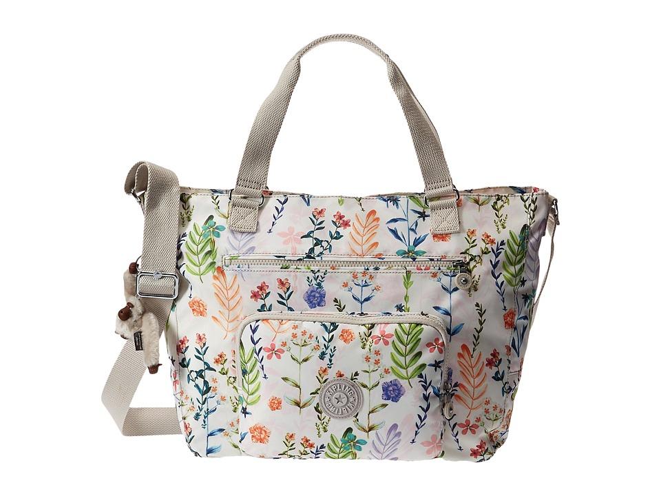 Kipling Maxwell Tote Floral Dreamer Tote Handbags